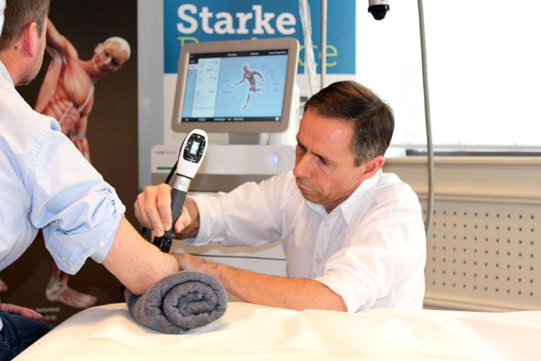 Dr. Michel Angelo Mrach, Stoßwellentherapie
