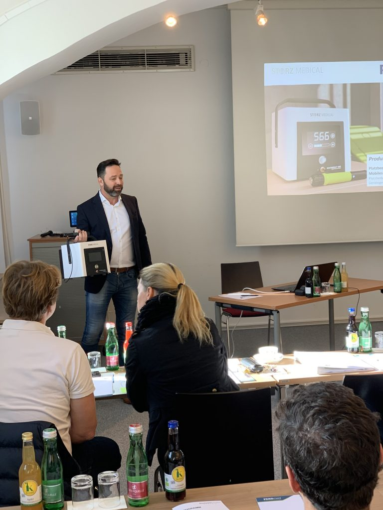 Stosswellen Workshop Graz, PEROmed