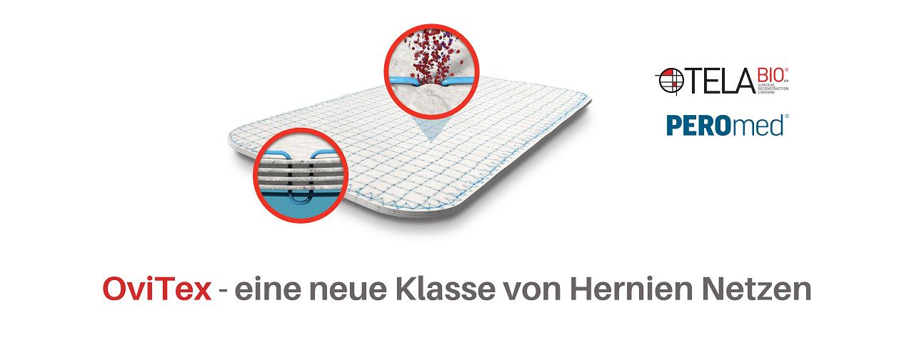 OviTex Hernienmatrix, Hernienreparatur, Hernien Operation, TelaBio,